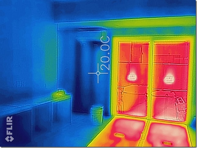 サーモカメラ 英設計 パッシブ 20℃ 20度