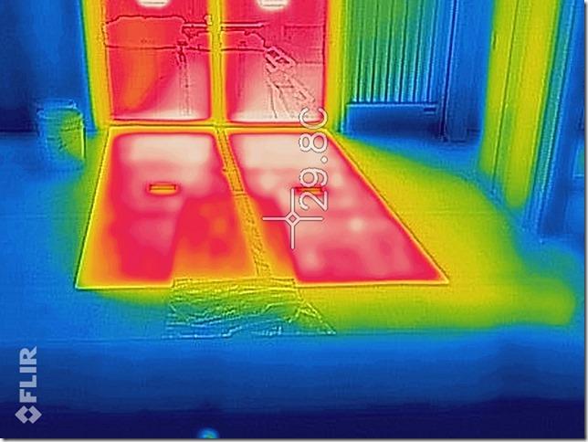 サーモカメラ 測定 室内温度 太陽の光のチカラ 英設計 住宅