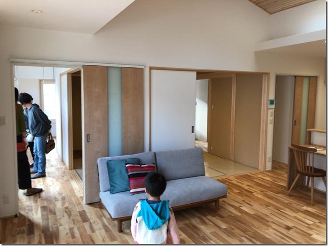 完成見学会 英設計 オープンシステム 松本市庄内の家