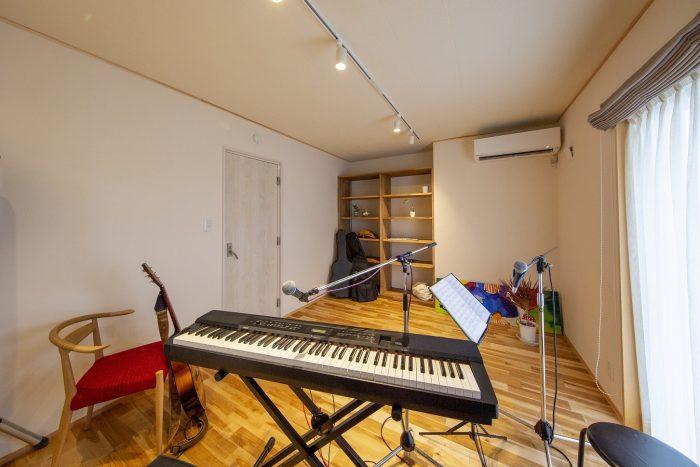 音楽室のある風景